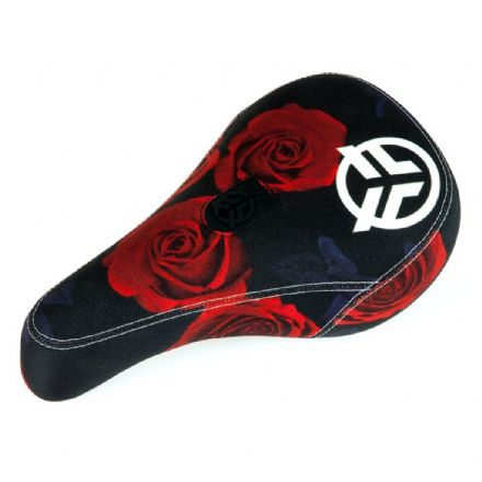 Federal Mid Pivotal Roses Seat - Black / Red With White Logo